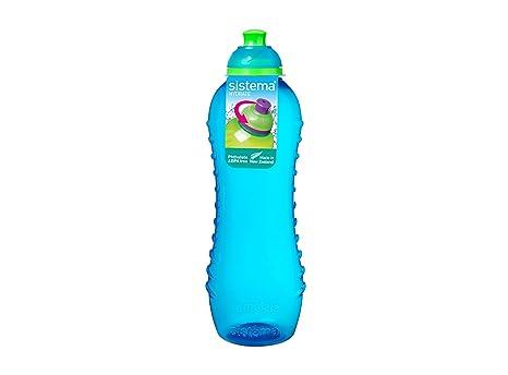 Sistema Hydrate Twist n Sip - Botella de plastico, Azul, 620 ml, 1 unidad