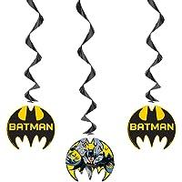 Decoración para fiesta de Batman (idioma español no garantizado)