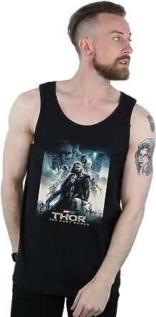 Marvel Studios Hombre Thor The Dark World Poster Camiseta Sin ...