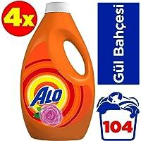 Alo 26x4 (104 yıkama) Sıvı Deterjan Gül Bahçesi Beyazlar ve Renkiler