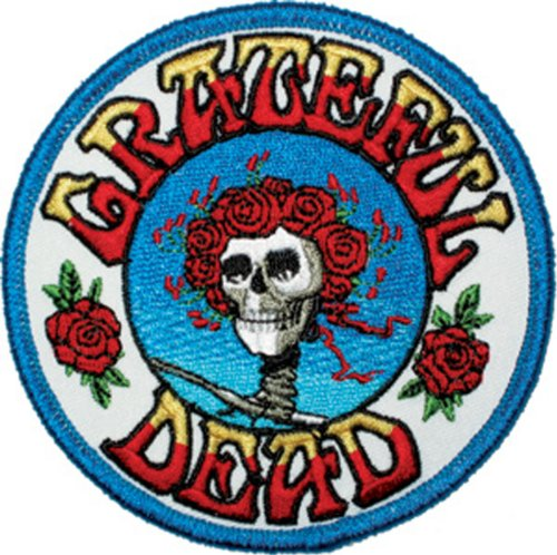 Application Skull and Roses Logo Patch