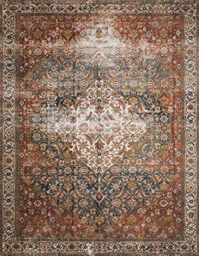 Loloi ll Layla Collection LAY-05 Classic Traditional Area Rug 7'6