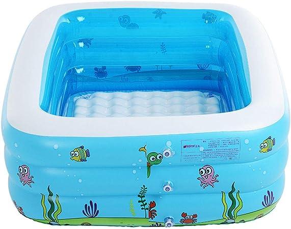 HEROTIGH Piscinas Hinchables Familia Piscina De Engrosamiento De Tres Anillos para Niños Inflable 11 M. Inflatable Pool: Amazon.es: Hogar