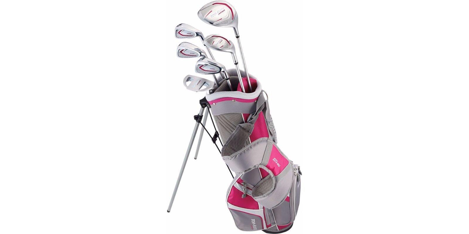 Top Flite Golf Junior Girls 9-12 or 53'' & up Kids Set RH