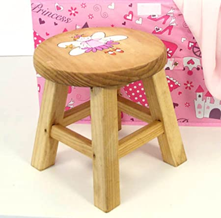 Fantastic Sue Ryder Childrens Flat Pack Wooden Fairy Stool Amazon Co Theyellowbook Wood Chair Design Ideas Theyellowbookinfo