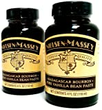 Nielsen Massey Madagascar Bourbon Pure Vanilla Bean Paste - 2 jars!