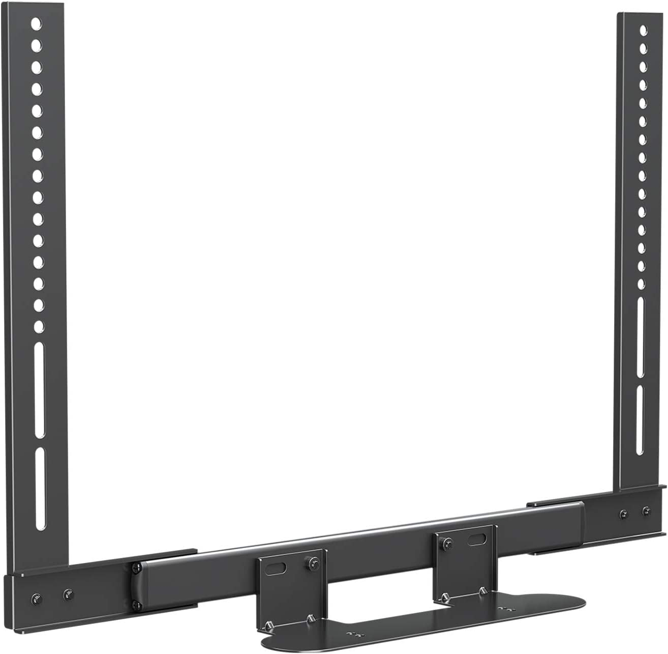 Mounting Dream Soundbar Mount with Easy Access Design for SONOS Beam, SoundBar Bracket with Sliding Block Fits TV up to VESA 600x400mm, Compatible with The Beam Constructed of Duty Aluminum Profile