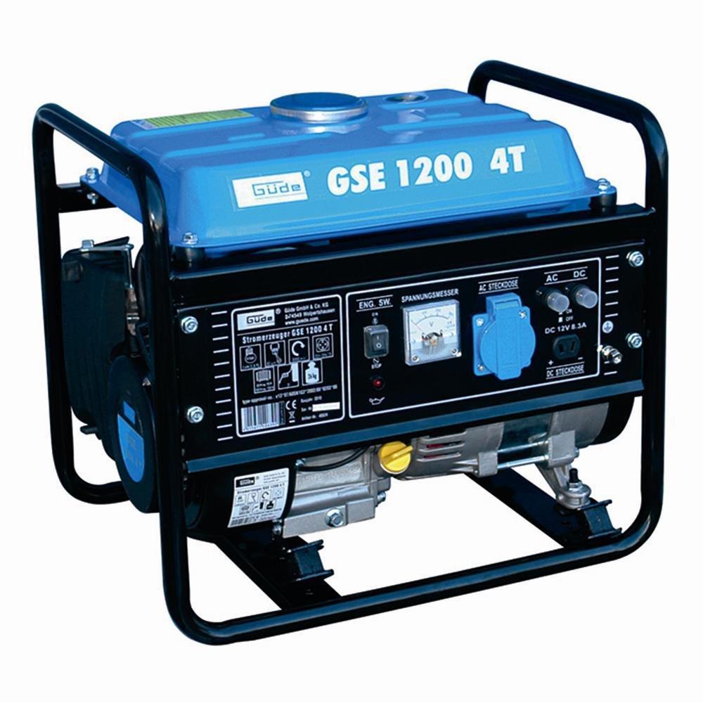 Stromerzeuger GSE 1200 4T, 850/950W 1 Zylinder/4-Takt-Motor 1,75kW (2,4PS)
