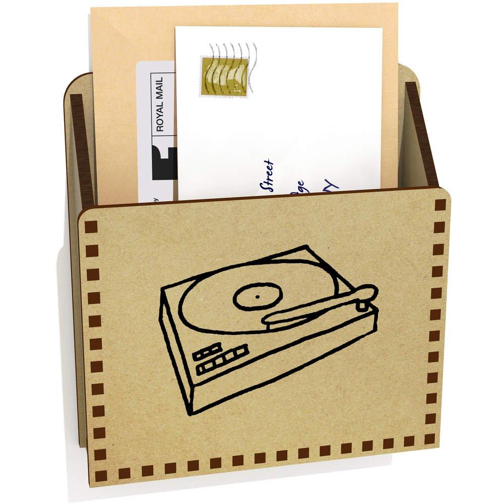 Tocadiscos De Madera Carta Poseedor / Caja (LH00022015): Amazon ...