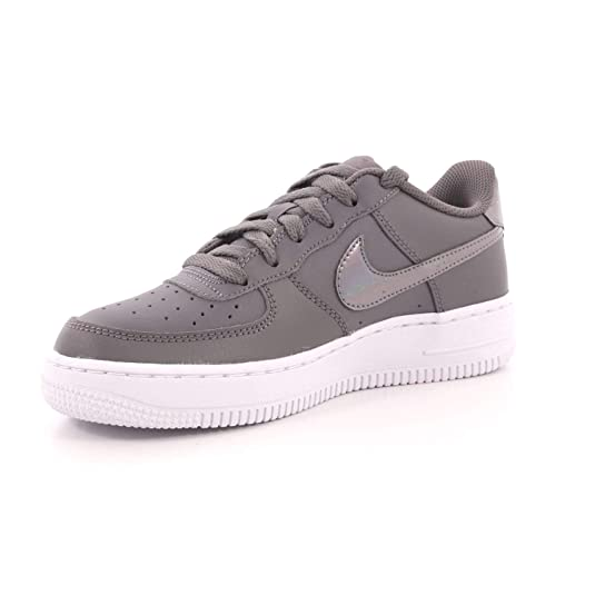 Nike Damen Air Force 1 (Gs) Fitnessschuhe, grau