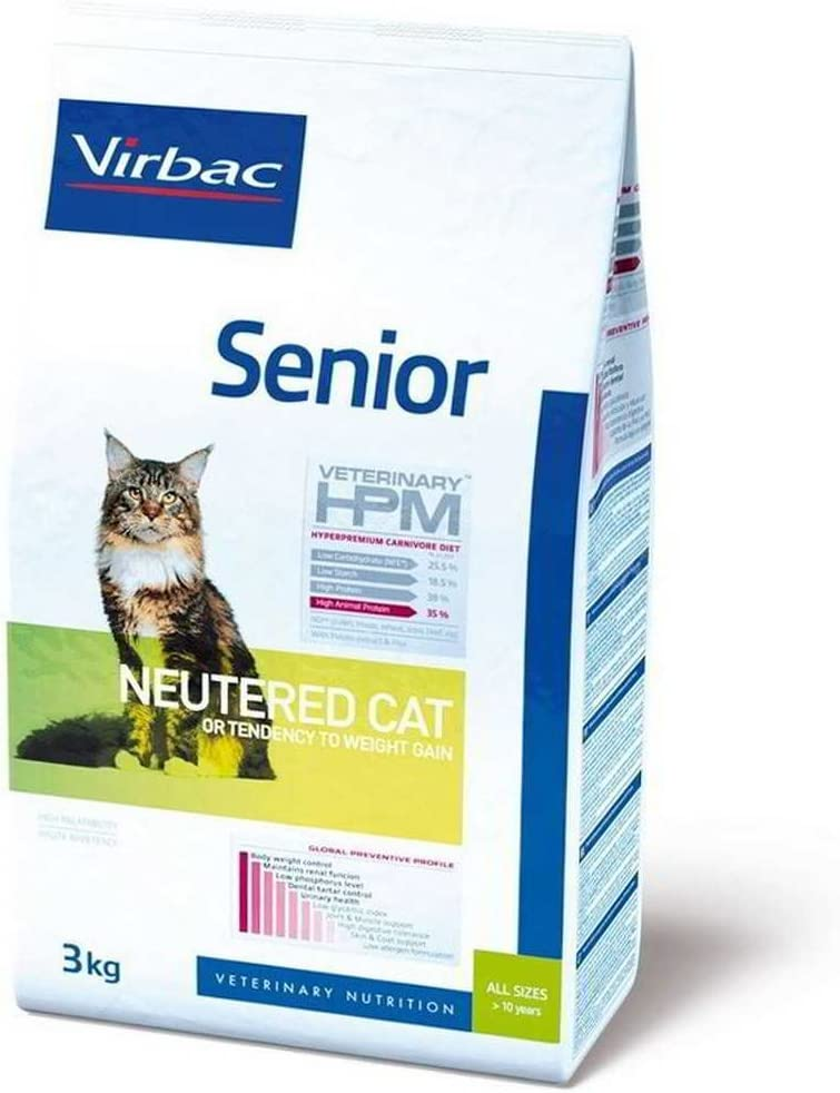 HPM Virbac Feline Senior Neutered 3Kg 3000 g