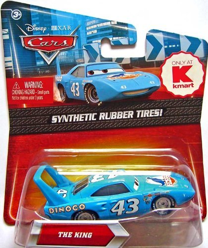 Disney Pixar Cars, Exclusive Die-Cast Vehicle, The King with Synthetic Rubber Tires, 1:55 Scale - Exclusive Disney Pixar Cars