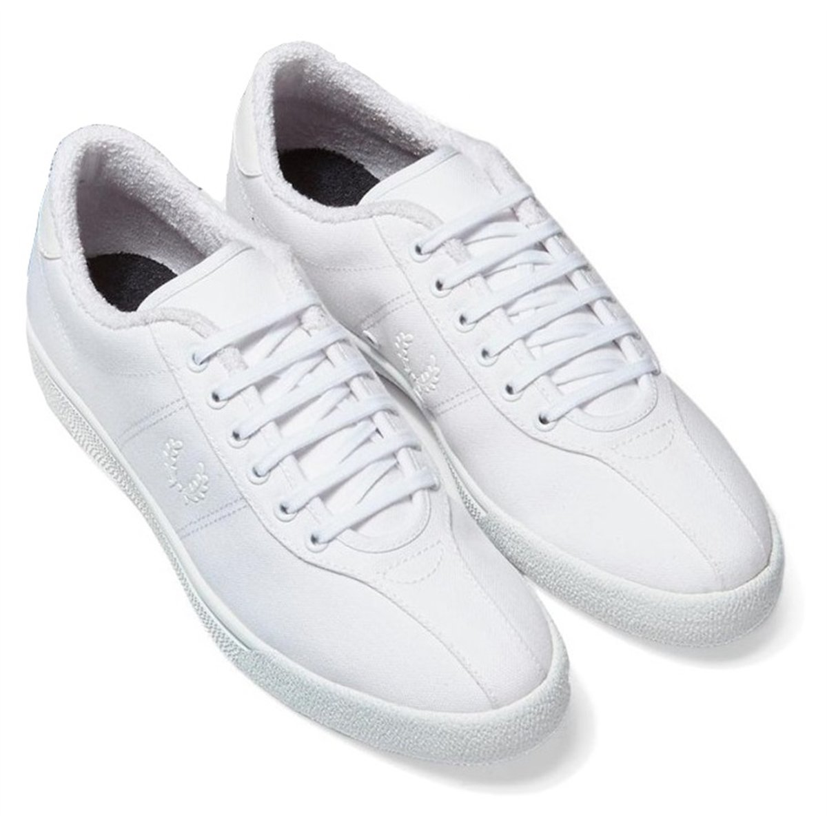 Frot Perry Mens B1 Tennis Canvas Trainers