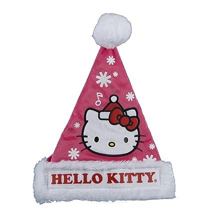 40c8cd0779e7c Amazon.com  Kurt Adler Hello Kitty Santa Hat