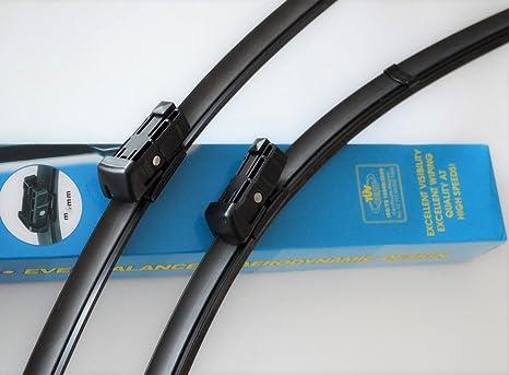 """26 """"+ 22"""" aero soporte de TÜV certificado de autenticidad del limpiaparabrisas cuchillas"""