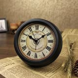 Brandream Luxury Vintage Small Wall Clock Classic Desk Clock 6 Inch Diameter For Sale