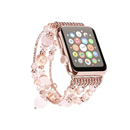Amazon.com: Apple Watch banda, solomo [joya Series] Lujo ...