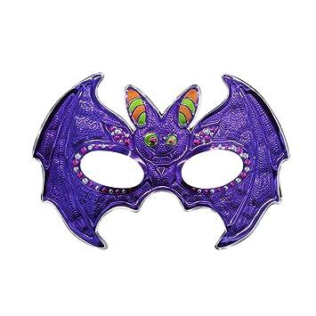 PromMask Mascara Facial Careta Protector de Cara dominó Frente Falso Halloween Maquillaje Danza máscara Horror Diablo