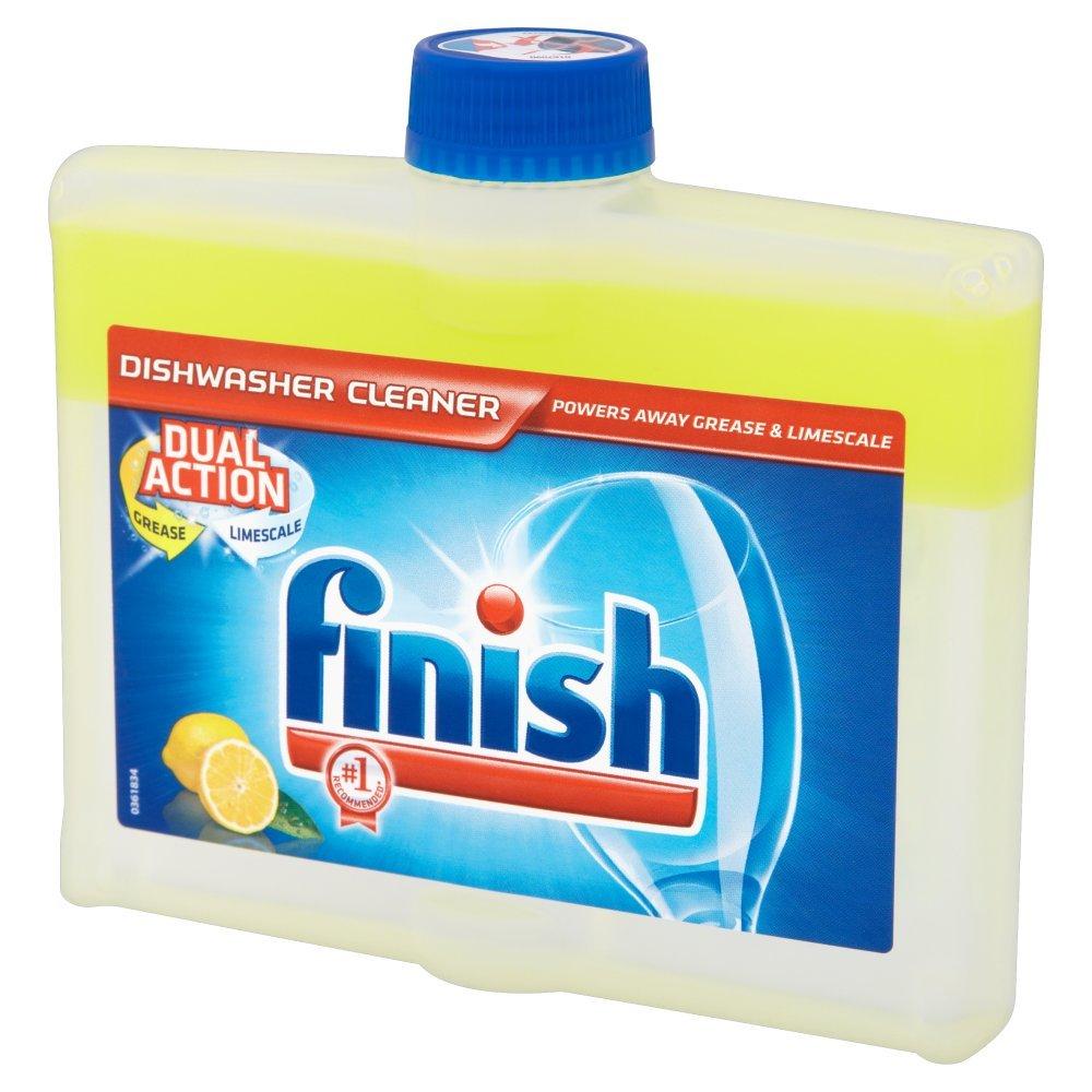 Finish - Limpiador de lavavajillas de doble acción, brillo limón ...