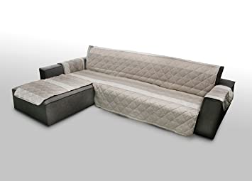 Capitan Casa Quilted Sofa For Sofas With Beige Left Right Peninsula