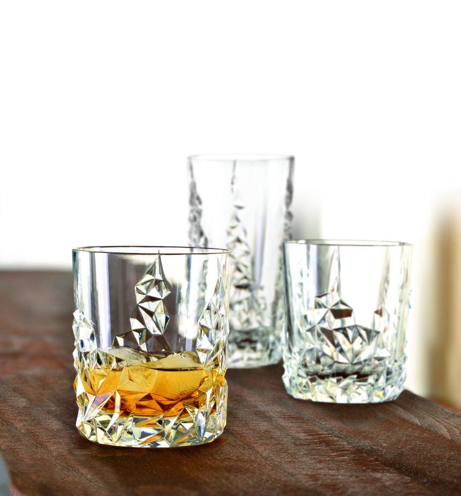 Spiegelau & & & Nachtmann, 3-teiliges Whisky-Set, Dekanter+ 2x Whisky-Becher, Sculpture, 91900 B00E4KUGUQ Cocktail-Sets 5d9b31
