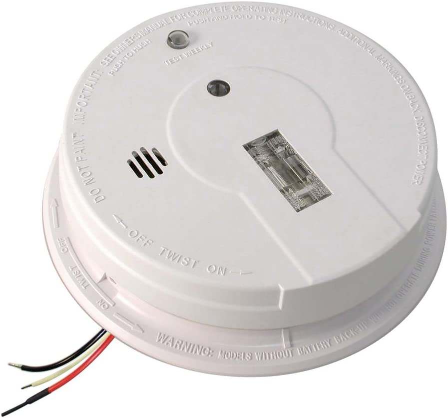 Kidde Ac Hardwired Interconnect Smoke Alarm With Safety Light