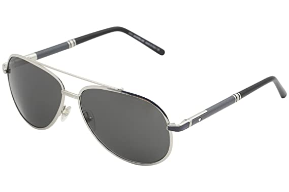c40c9093222 Image Unavailable. Image not available for. Color  Mont Blanc MB511S  Sunglasses Color 16A