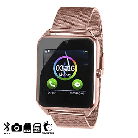 DAM AK-Z60 - Smartwatch con cámara integrada y SIM, Color ...