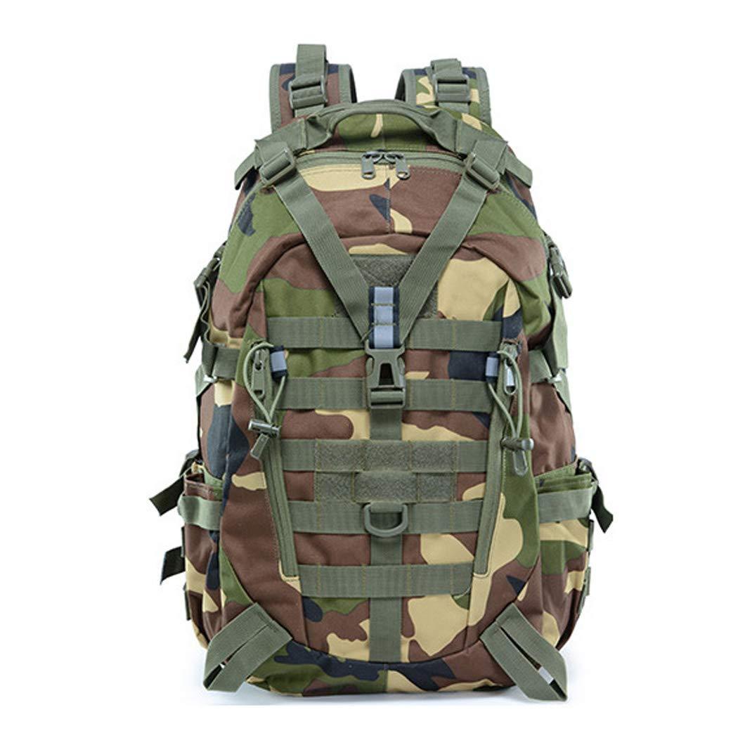 Jungle 25L JUNBOSI Sac à Dos Tactique d'assaut 25L Molle Sac à Dos Sac à Dos Militaire pour la randonnée en Plein air Camping Trekking Chasse