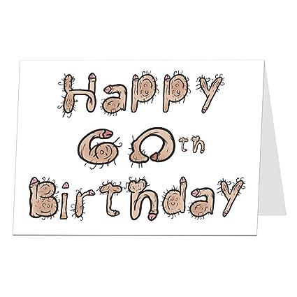 Divertida tarjeta de felicitación de 60 cumpleaños para ...