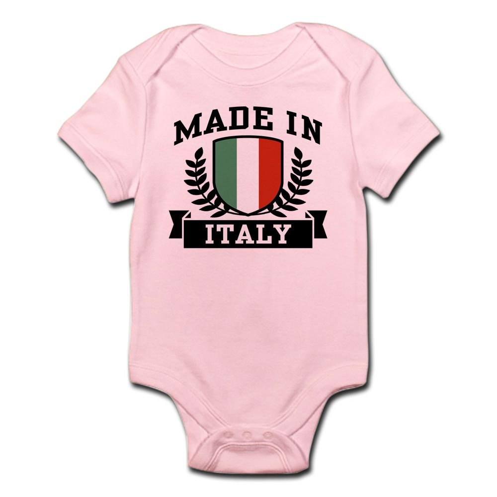 CafePress - Made In Italy - Cute Infant Bodysuit Baby Romper