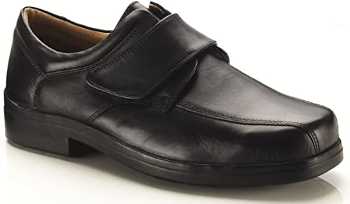Mens New Extra Wide 4e Fitting Black