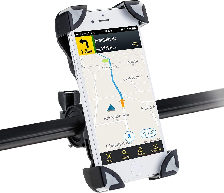 8 PLUS X Bicycle Bike Mount Handlebar Phone Holder Grip 360° APPLE IPHONE 7