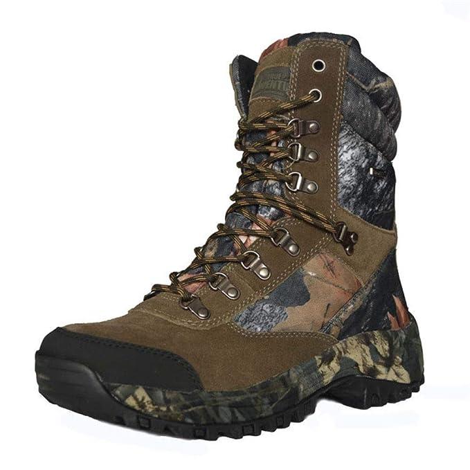 ... Zapatos De Caza De Camuflaje Para Hombre, Calientes, Resistentes Al Desgaste, Para Ayudar A Camuflar Las Botas Tácticas: Amazon.es: Ropa y accesorios