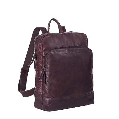 e0d7183948899 The Chesterfield Brand Maci Rucksack Leder 40 cm Laptopfach  Amazon ...