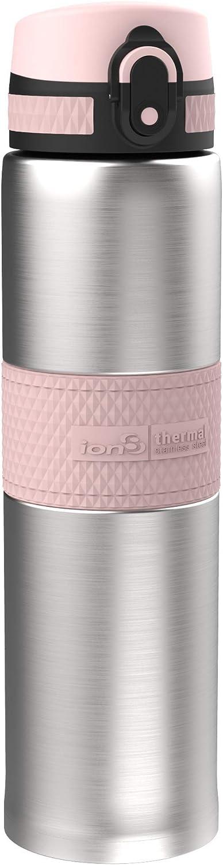16oz 480ml en Acier Inoxydable ThermoShield Ion8 Bouteille deau et Fiole R/ésistante aux Fuites