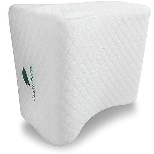 Almohada de rodilla de forma cómoda para quienes duermen de ...