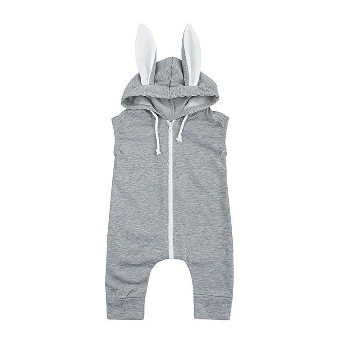 Amazon.com: g-real conejo overol, unisex bebé niños niñas ...