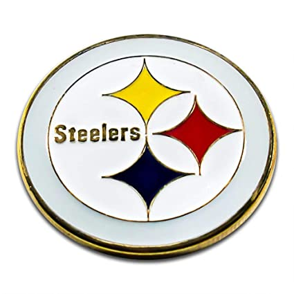 2399c7935d8 Amazon.com: Art Crafter The USA NFL Pittsburgh Steelers Logos Coins ...