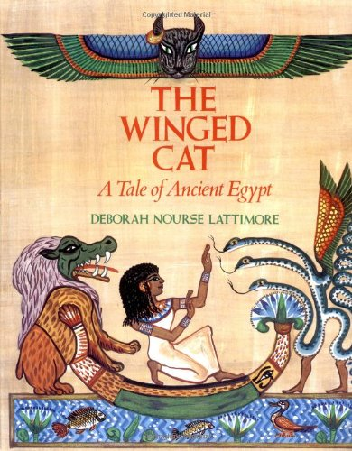 The Winged Cat by HarperCollins