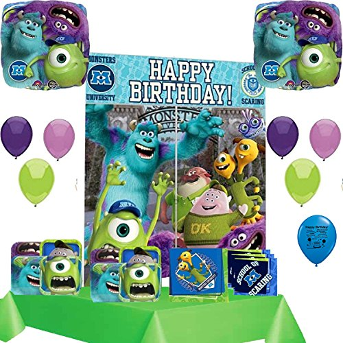 Monsters University Party Supply and Balloon Decoration Kit