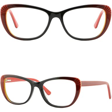0f8aa977a07 Image Unavailable. Image not available for. Color  Light Women Cateye Cat  Eye Acetate Frame Spring Hinge Prescription Glasses Green