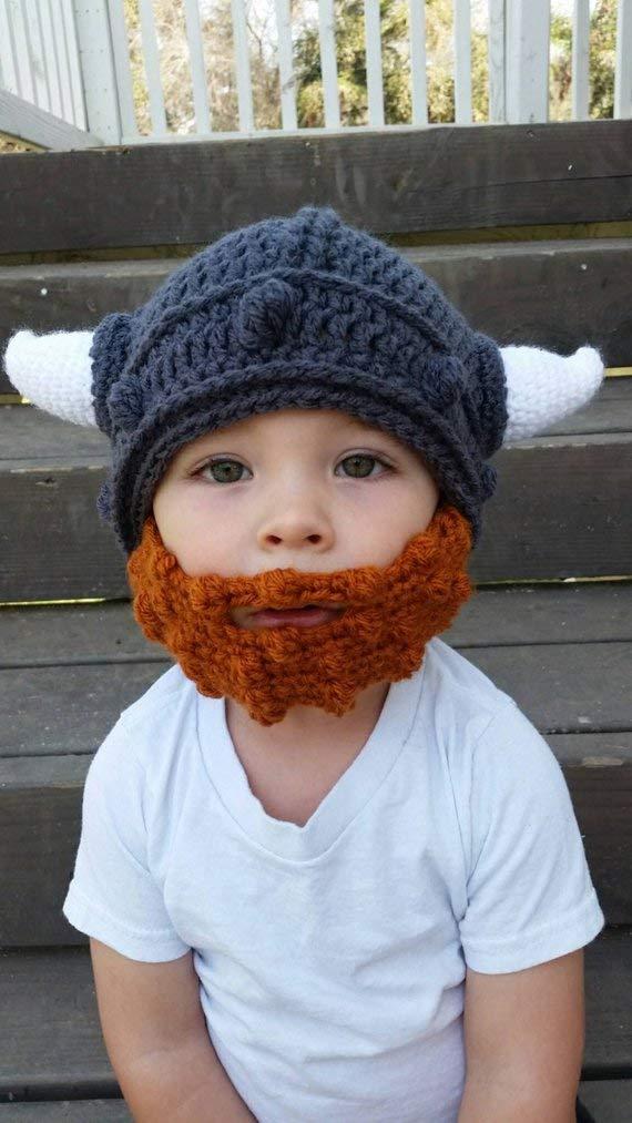 Viking Beard Hat Set