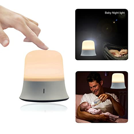 Huis Night Lights for Kids Baby Eye Caring Portable Bedside