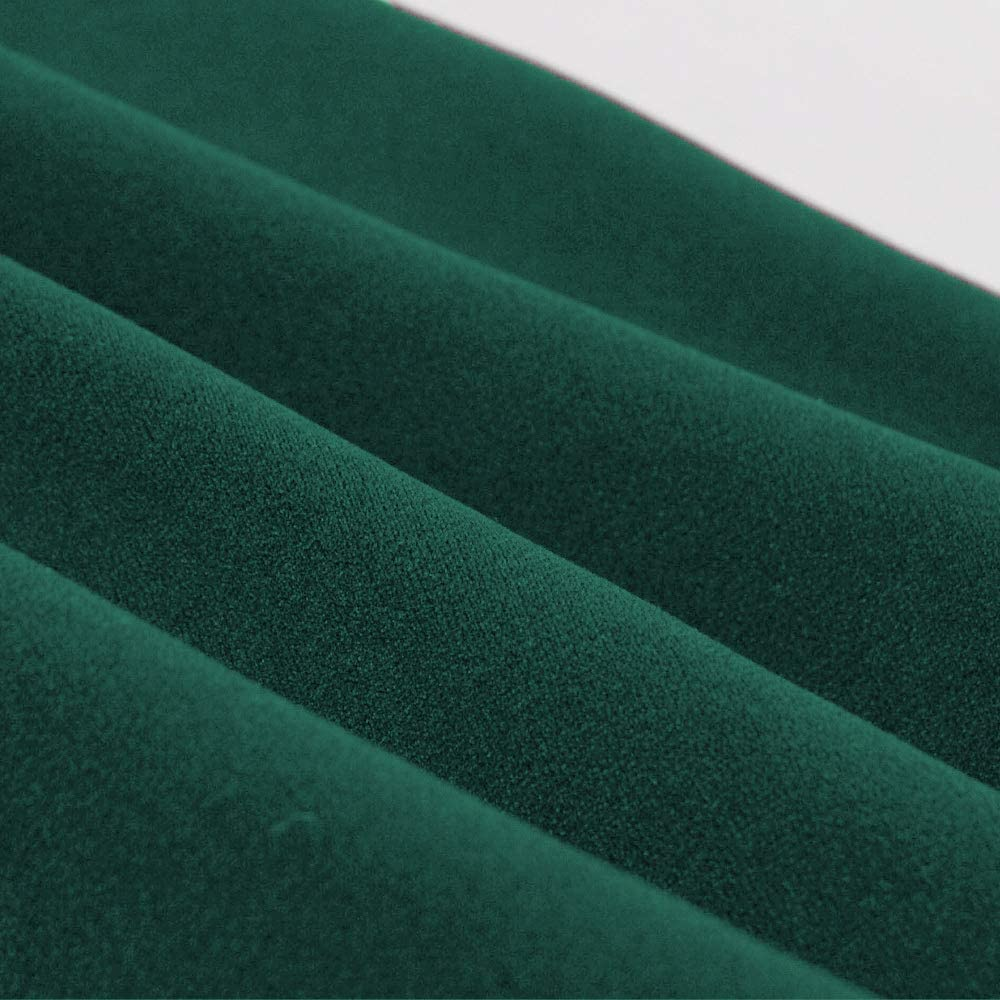 HZD Women O Neck Short Sleeve Vintage Dress Robe High Waist A Line Patchwork Party Female Retro Dress Green