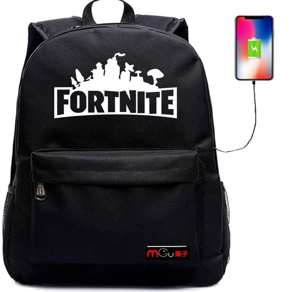 ZWS excelente Luminoso_USB Cargando Mochila - Bolsa De Hombro Moda Ocio Backpack - Mochila De Viaje,Negro 5: Amazon.es: Deportes y aire libre