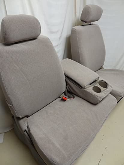 Wondrous Durafit Seat Covers Toyota Tundra 40 60 Bench Seat In Taupe Velour Pabps2019 Chair Design Images Pabps2019Com