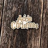 Ornament - Accio Christmas - Raw Wood 2x4in