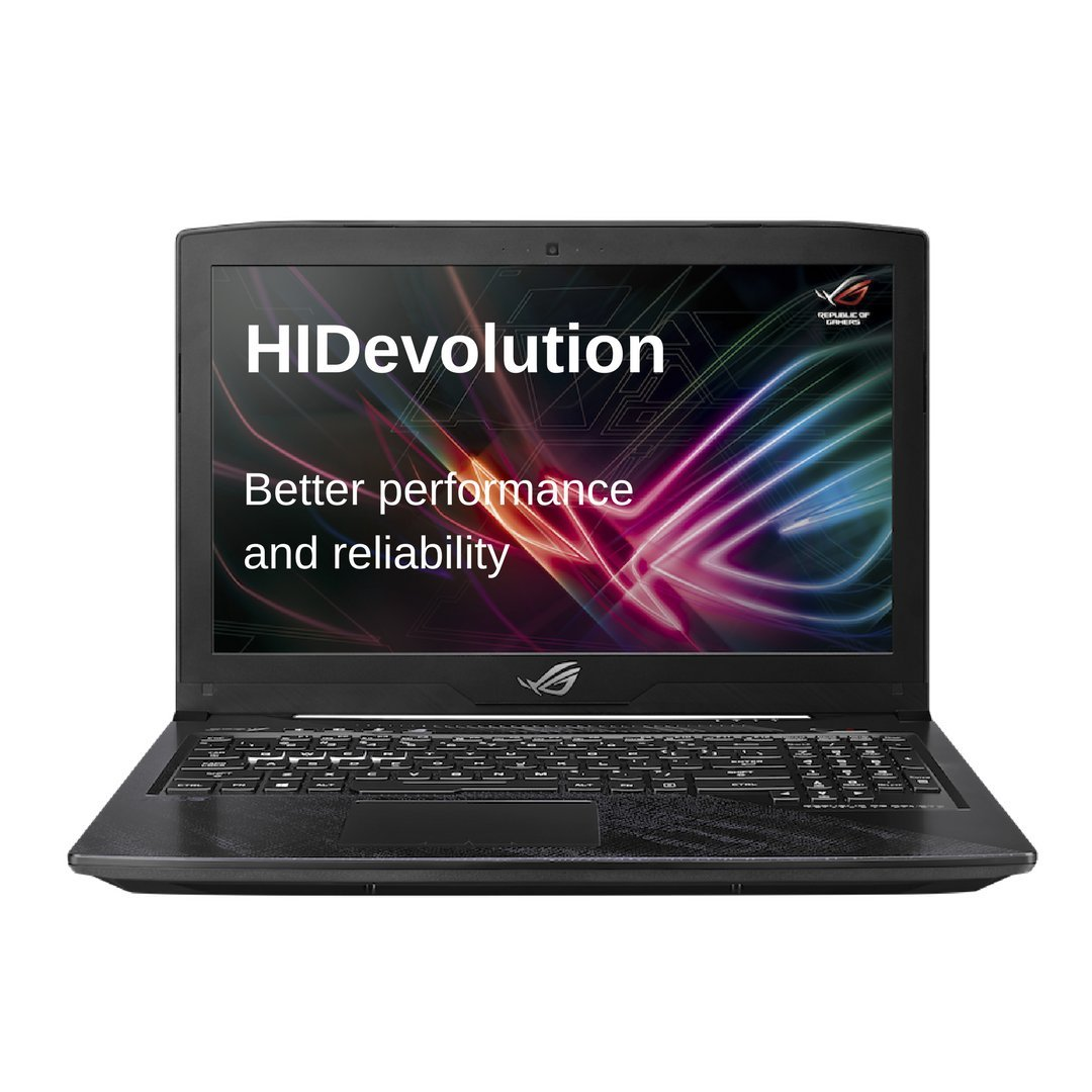 HIDevolution ASUS ROG Strix GL503VM 15 inch Gaming Laptop | 2.8 GHz i7-7700HQ, 16GB DDR4 RAM, GTX 1060 6GB, PCIe 256GB SSD + 1TB SSHD | Authorized ...