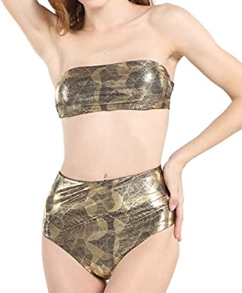 Amazon.com: Yajiemen Women Sexy Bikini Set Two Piece